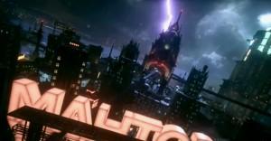 Scena da Batman Arkham