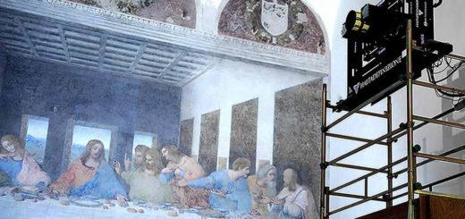 Digitalizzazione dell'ultima cena di Leonardo