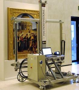 Digitalizzazione dello Sposalizio della Vergine di Raffaello