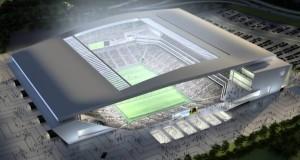 Rendering stadio Arena Corinthians