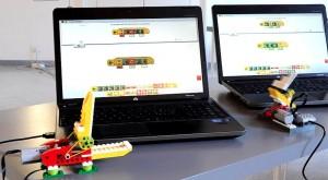 Coccodrillo robot LEGO