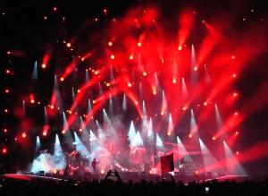 Scena luce Vasco Live 2014