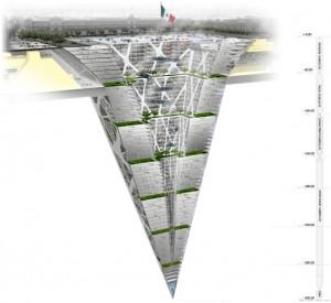 Earthscraper a Mexico City