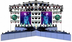 Progetto palco e luci