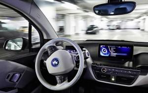 Tablet Samsung a bordo di una BMW