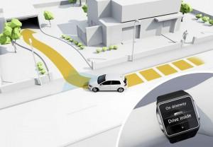 Volkswagen parcheggio autonomo