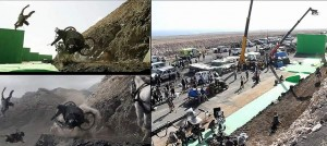 Caduta dei carri dalla montagna