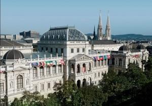 La sede dell'Università di Vienna