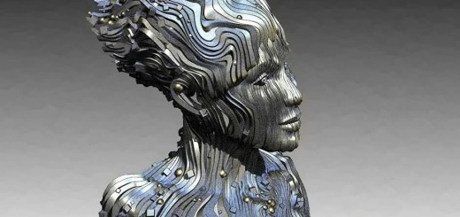 Statua The River di Gil Bruvel