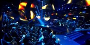 Suggestioni colorate su palco ed orchestra