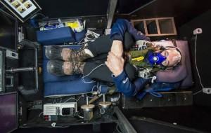 La cabina dei piloti del Solar Impulse
