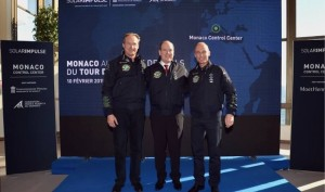 André Borschberg, SAR il Principe Alberto di Monaco, Bertrand Piccard