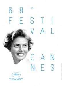 Affiche Cannes 2015 con Ingrid Bergman