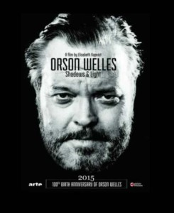 Locandina documentario Orson Welles Ombre e Luce