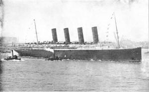 Transatlantico Lusitania