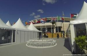 Stand villaggio internazionale Cannes