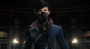 La protagonista Emily in Dishonored