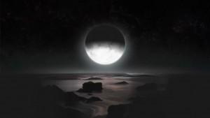 Vista dell'inverno di Plutone