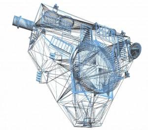 New Horizons struttura