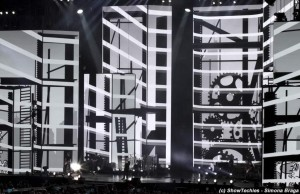 Projection mapping Tiziano Ferro 2015