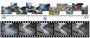 Time Lapse con foto da Internet