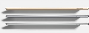 Spessore e colori iPad Pro