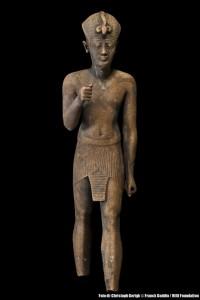 Statuetta ritrovata nel tempio Amun-Gereb