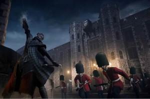 Torre di Londra e soldati