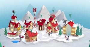 Il villaggio al Polo Nord