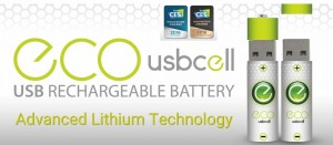 Batterie ricaricabili via USB
