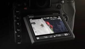 D500 monitor basculante