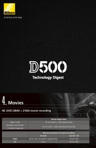 Technology Digest D500
