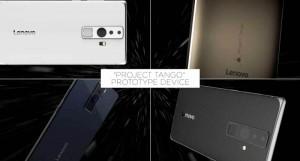 Lenovo smartphone Project Tango