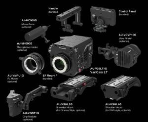 Configurazione accessori VariCam LT
