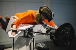 Simulatore di volo VR Birdly