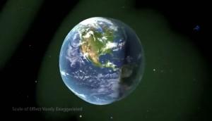 Effetto onda sulla Terra