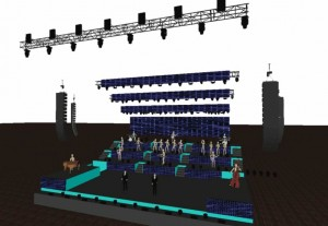 Progetto stage & Luci