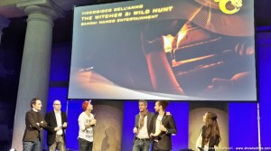 Premiazione The Witcher 3 Wild Hunt