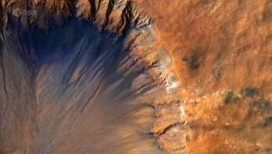 Simulazione superficie di Marte