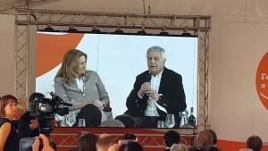 Relatori Monica Maggioni e Aldo Grasso