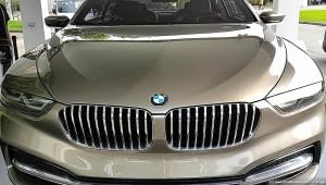 Calandra BMW Gran Lusso Coupé
