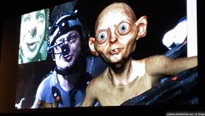 Andy Serkis tracking Gollum