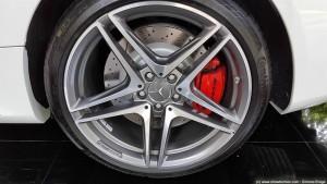 Pinze freni e cerchi in lega C 63 S coupé