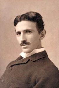 Nikola Tesla da giovane