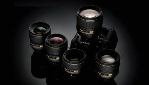 Gamma obiettivi f/1.4 Nikon