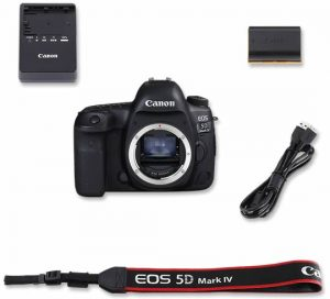 Contenuto confezione Canon 5D IV