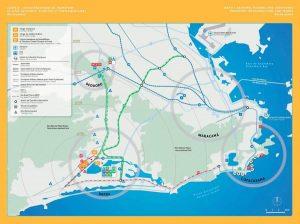 Mappa strutture olimpiche Rio 2016