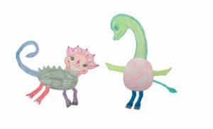 Disegni di dinosauri