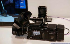 Sony F55 con AXS R7