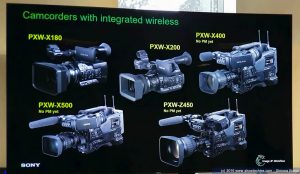 Sony Camcorder con wireless integrato